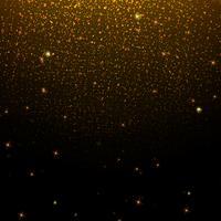 Goldglitter Hintergrund vektor
