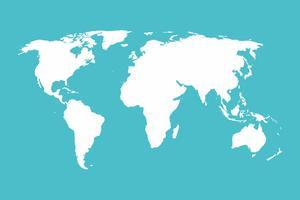 Världskarta Illustration