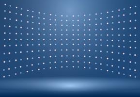 Lyxig blå studio rum bakgrund med Spotlights väl använd som Business bakgrund