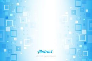 Blauer geometrischer abstrakter Hintergrund vektor