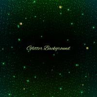 Grön Glitter bakgrund