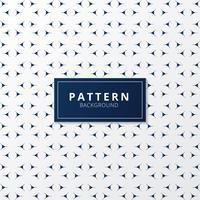 Dünne Linien Muster der abstrakten blauen Dreiecke auf weißem Hintergrund.