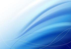 Blue Wave Background Vector