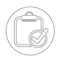 Zwischenablage-Symbol vektor