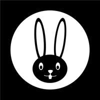 Kaninchen-Symbol