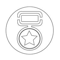 Medaille-Symbol