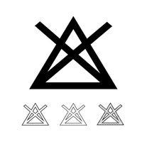 Wäscheservice Symbol Symbol Vektor