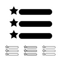 Menü-Symbol Vektor
