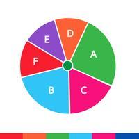 Ikon för företagsdata grafik vektor