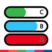 Geschäftsdaten-Diagramm-Symbol