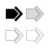 Pfeil-Symbol Vektor
