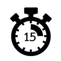 Tecken på stopwatch-ikonen vektor