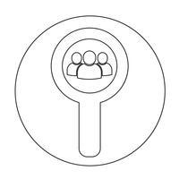 Zeichen des Benutzer-Symbols