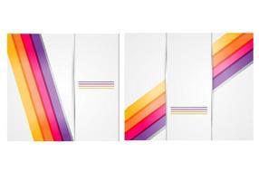 Silber Hintergrund Vektor Pack mit Bright Lines