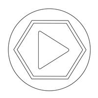 Play-Schaltflächensymbol