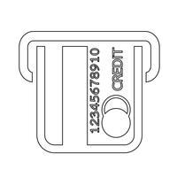 kreditkort ikon