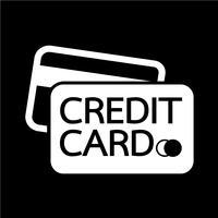 Kreditkarten-Symbol vektor