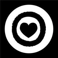 Alla hjärtans dag kortikonen vektor
