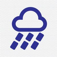 Wetter Icon Vektor-Illustration