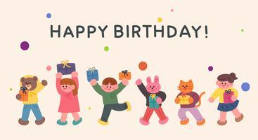 Alles Gute zum Geburtstagskarte.