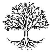 Trädvektor vektor
