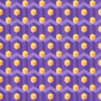 Magnetiserar isometrisk geometri mönstrar