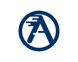 Eine Buchstabe Logo Business Template Vector-Ikone
