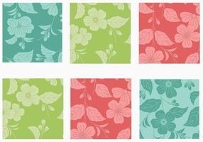Stor Floral Bakgrund Vector Pack