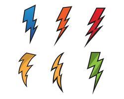 Blitzblitz-Blitzikonenvektor