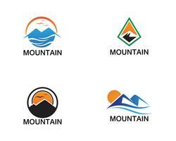 Minimalistiska Landscape Mountain logotyp design inspirationer
