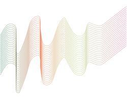 Wellenlinie Grafik Illustration Vektor
