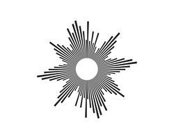 Ljud vågor vektor illustration