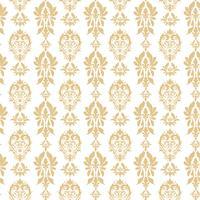 Kunglig Victorian sömlös mönster. Damask kungligt mönster vektor