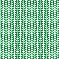 Grüne Blattmuster-Designschablone vektor