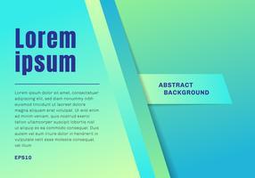 Abstrakt mall grön och blå ljus bakgrundsfärg bakgrund med separat diagonal papper stil. vektor