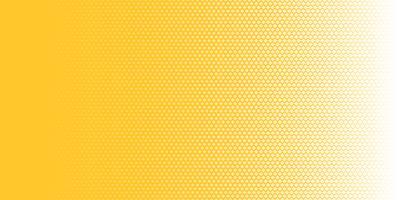 Abstrakte Halbtonbeschaffenheit des Musters der weißen Quadrate horizontal auf gelber Hintergrundknallkunstart. Sie können für Gestaltungselemente Präsentation, Bannerweb, Broschüre, Poster, Faltblatt, Flyer usw. verwenden.