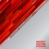 Vector grafischen abstrakten Hintergrund der geometrischen hellroten Farbillustration