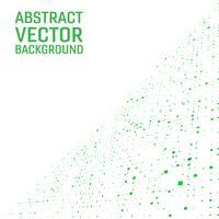 Moderner geometrischer quadratischer abstrakter Hintergrund des hellgrünen Farbvektors. Geometrisches Muster im Halbton-Stil