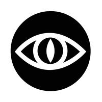 Zeichen der Augensymbol vektor