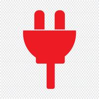 Plugin-Symbol-Vektor-Illustration