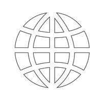 Kugelerdikonen-Vektorillustration vektor