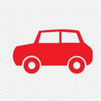 Auto-Symbol-Vektor-Illustration vektor