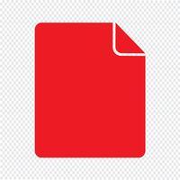 Arkiv ikon vektor illustration