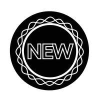Neues Zeichen-Symbol vektor