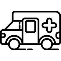 Krankenwagen-Symbol Vektor