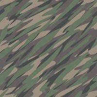 Camouflage Abstrakt Sömlös Mönster vektor