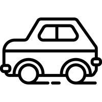 Auto-Ikonen-Vektor vektor