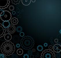 abstrakt kugghjul bakgrund