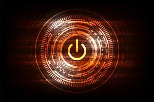 Vektortechnologie-Schalterdesign.