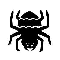 Tarantula Ikonvektor vektor